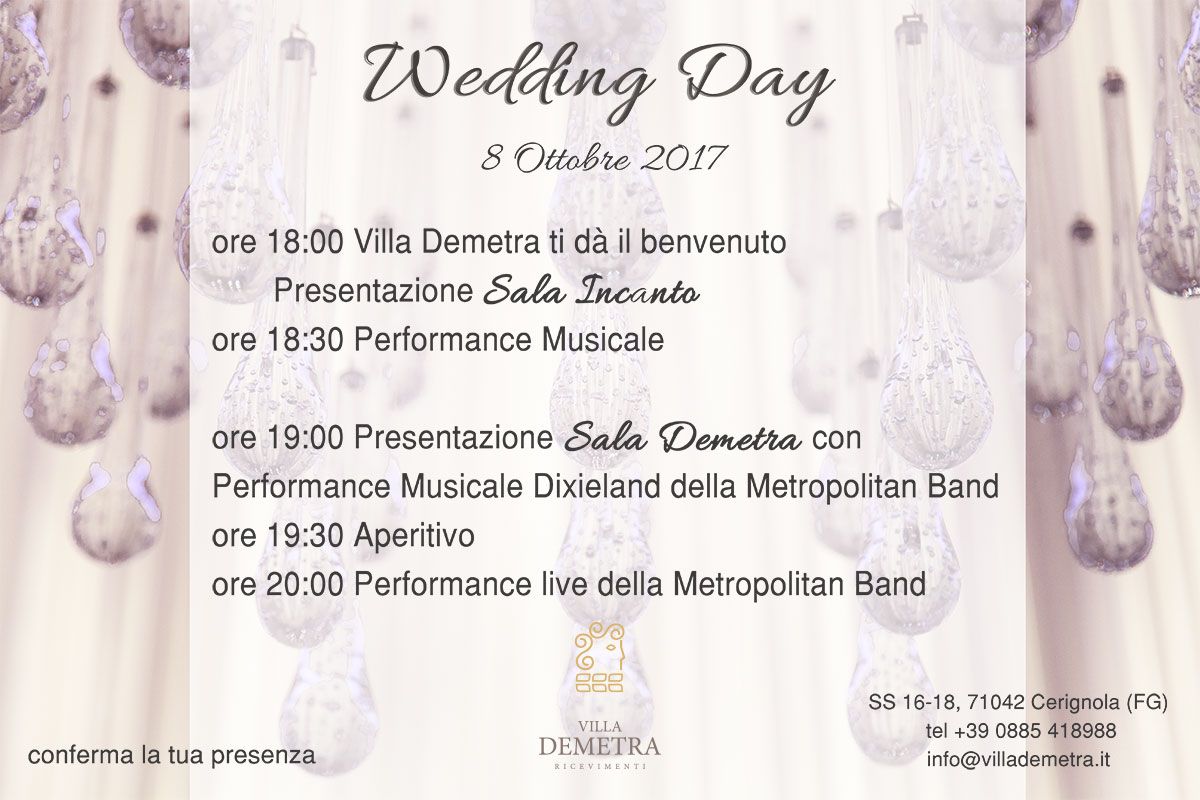 wedding-day-programma